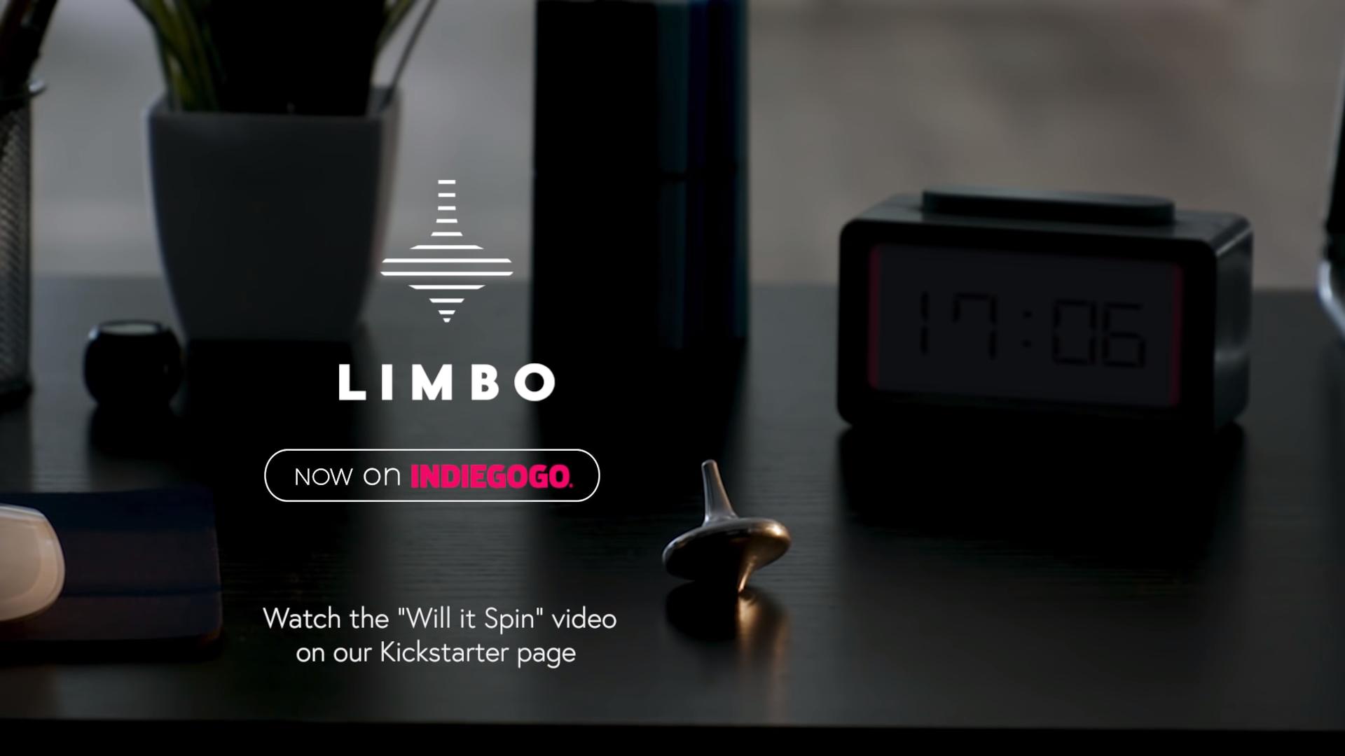 Limbo spin on indiegogo