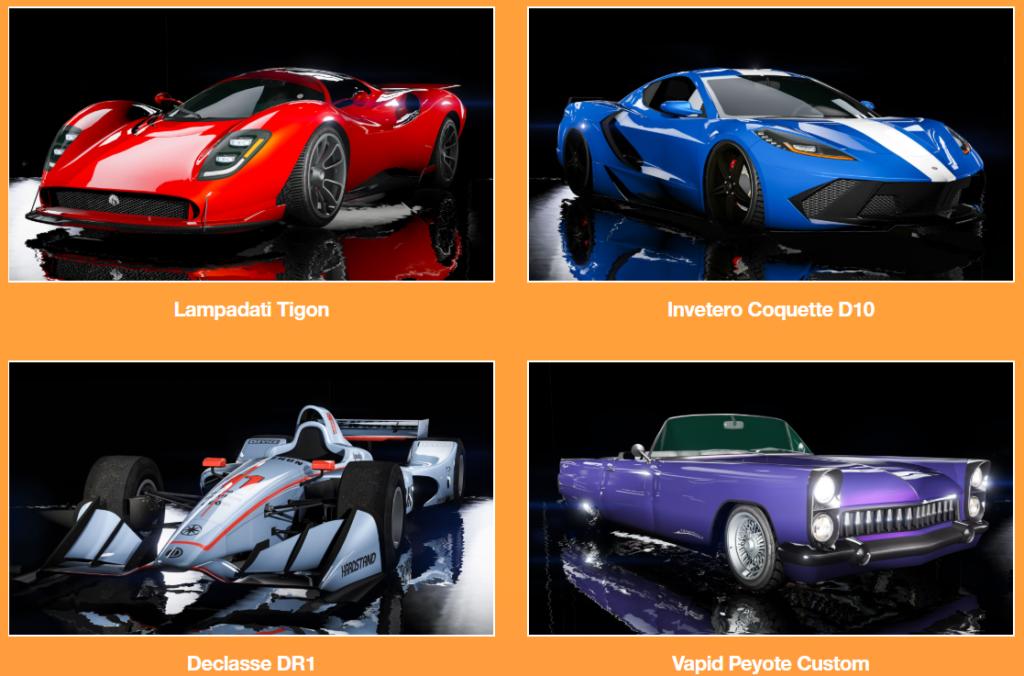 15款新車加入GTA Online